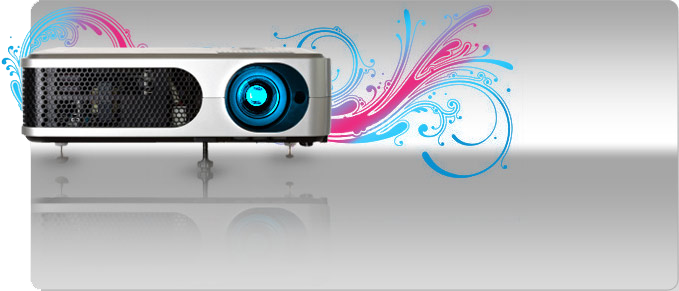 Projectors for Hire Banner